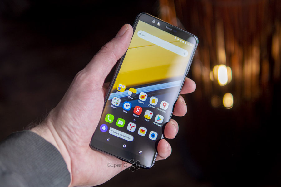 Характеристики Яндекс.Телефона