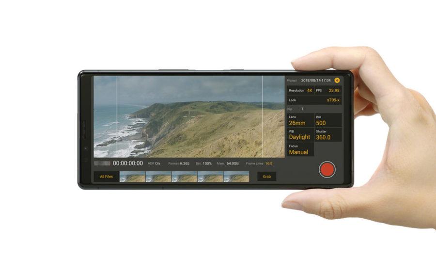 Профессиональный режим съёмки на камеру Sony Xperia 1