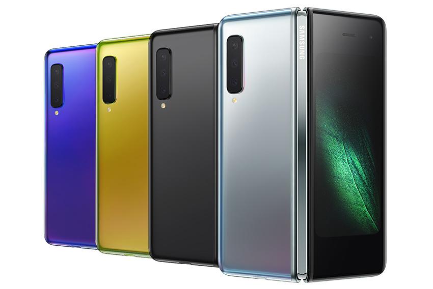 Samsung Galaxy Fold цвета корпуса и дата выхода