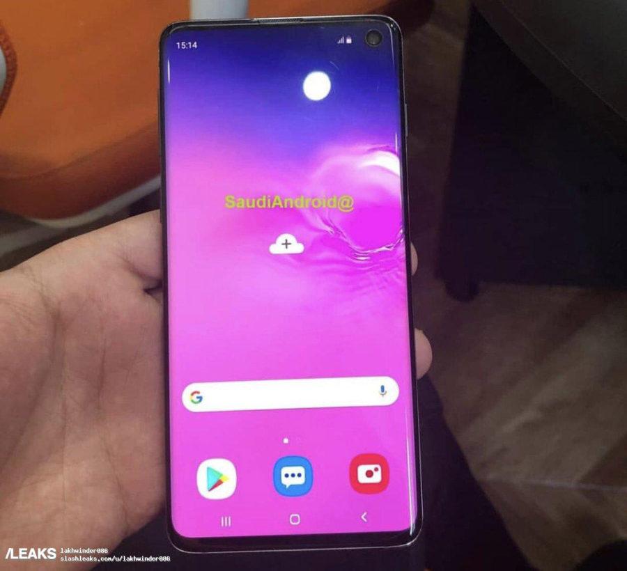 Samsung Galaxy S10 дисплей