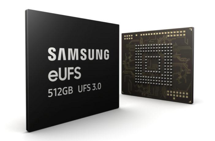 Samsung eUFS 3.0 512 GB