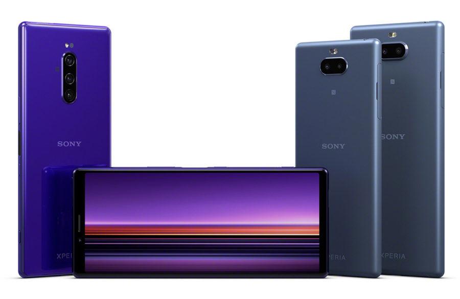 Sony Xperia 1 дисплей 21:1 практически без рамок
