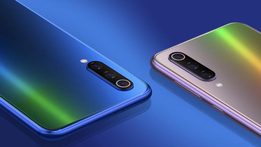 Xiaomi Mi9 SE три камеры