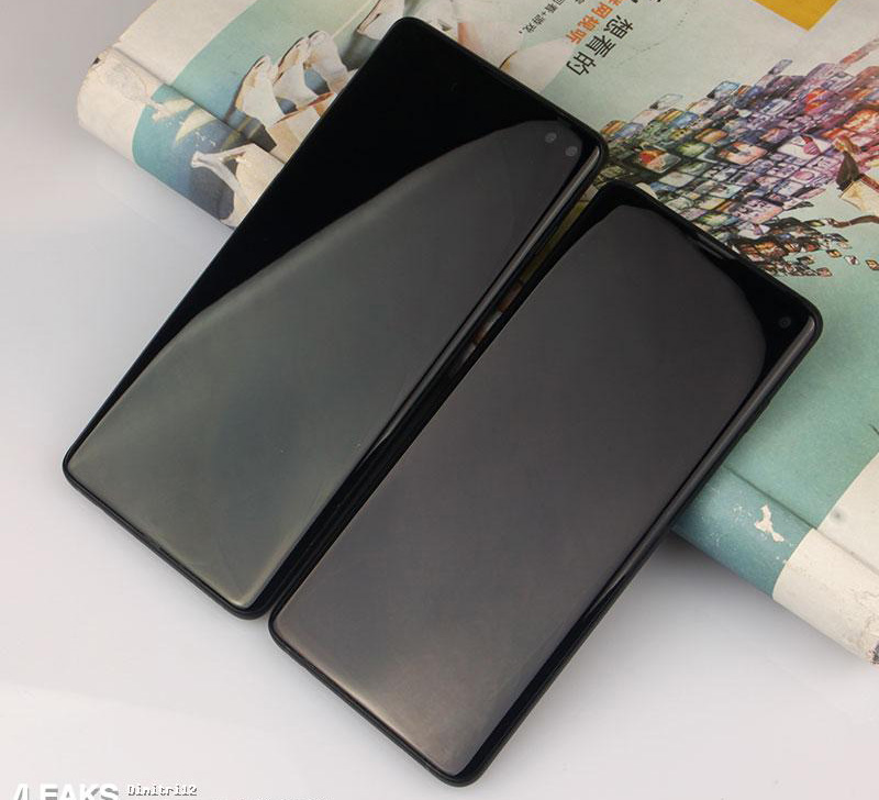 Samsung Galaxy S10+ и Samsung Galaxy S10
