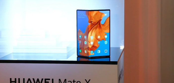 Huawei Mate X - складной смартфон