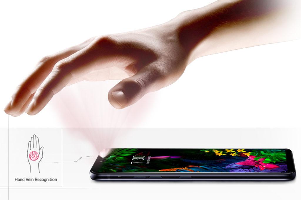 Hand ID LG G8 ThinQ