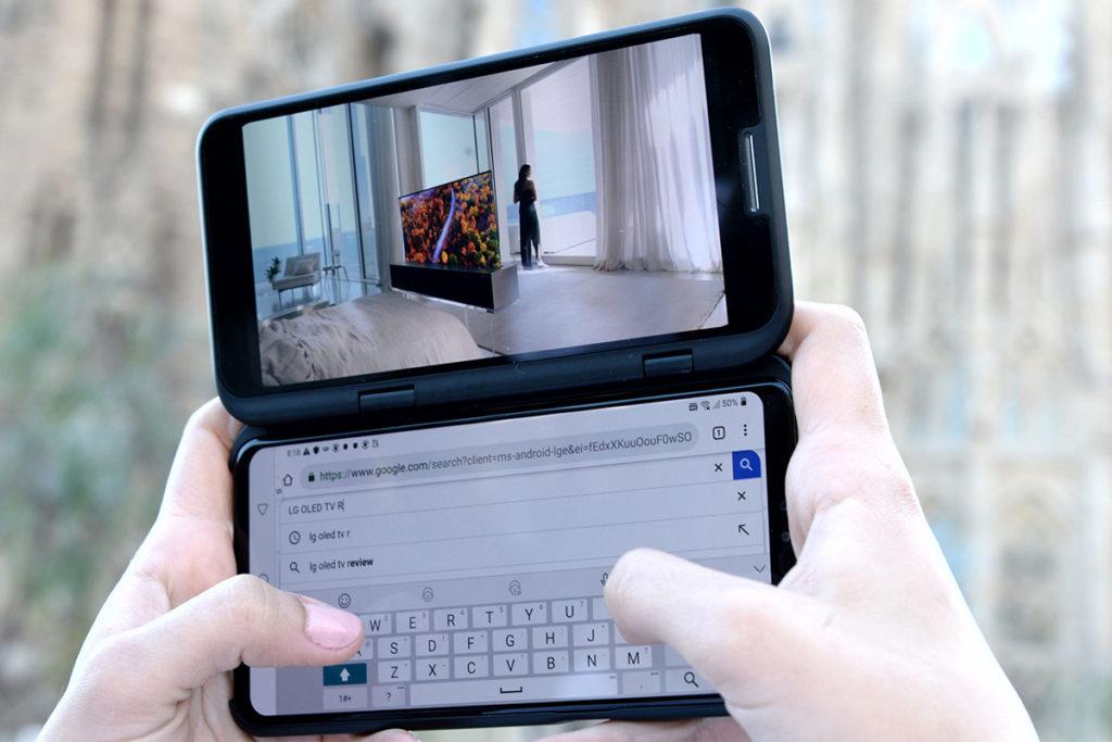 Второй дисплей Dual Screen LG