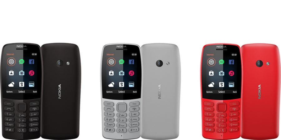 Кнопочные телефоны Nokia 210 2019