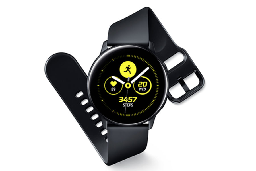 Дизайн Samsung Galaxy Watch Active