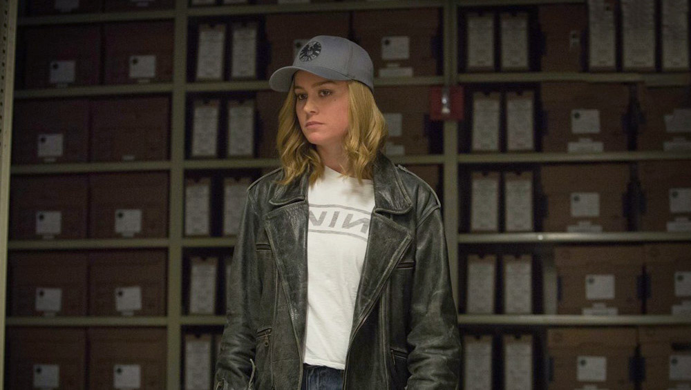Captain Marvel Nine Inch Nails shirt