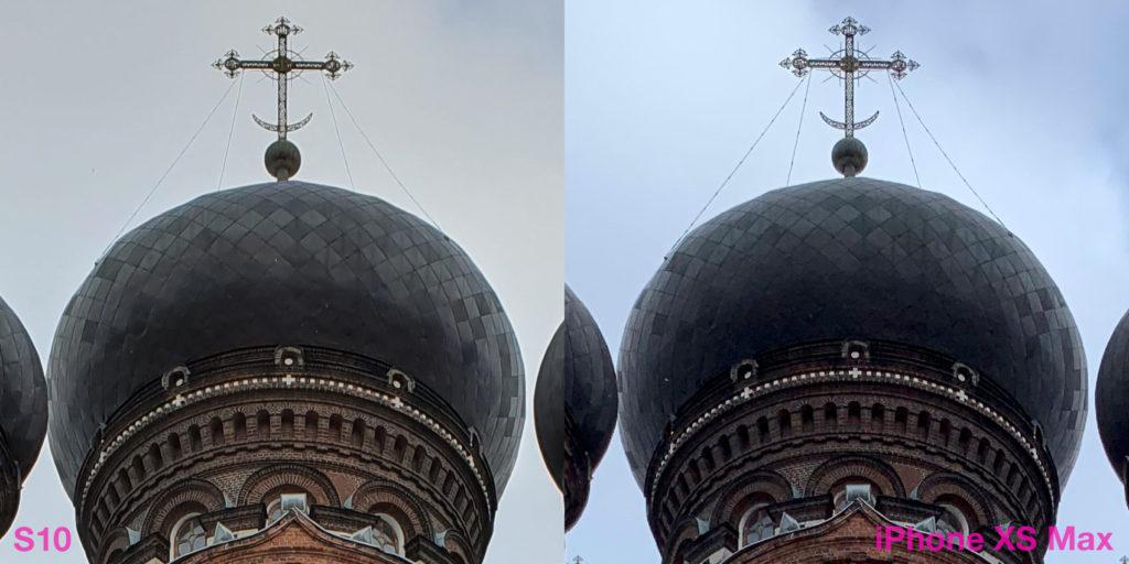 Сравнение камер Samsung S10 и iPhone XS Max