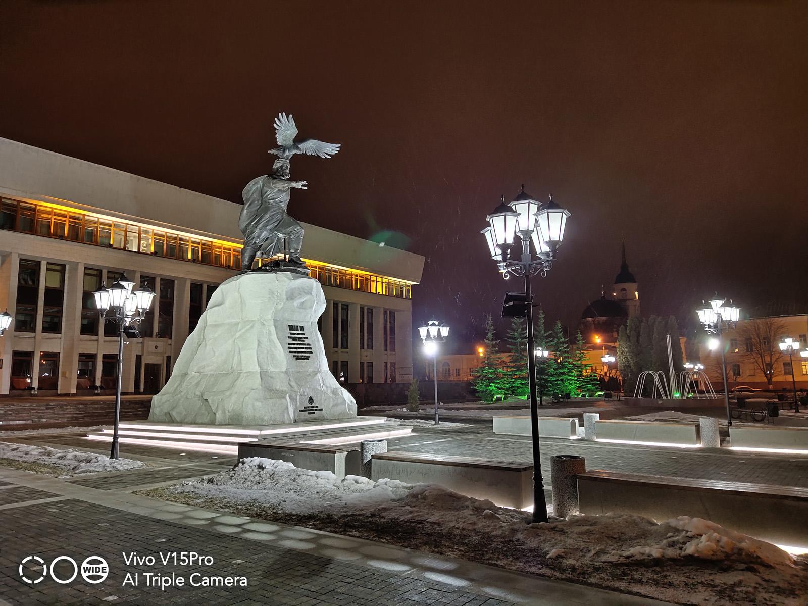 Ночной режим съёмки Vivo V15 Pro