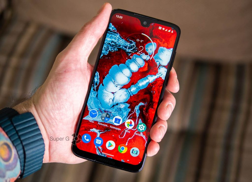 Motorola Moto G7 дисплей