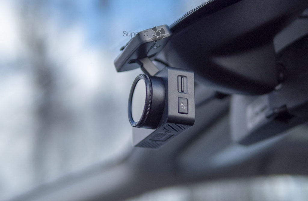 Кнопка HOT-KEY для блокировки записей на карте памяти Neoline G-Tech X72