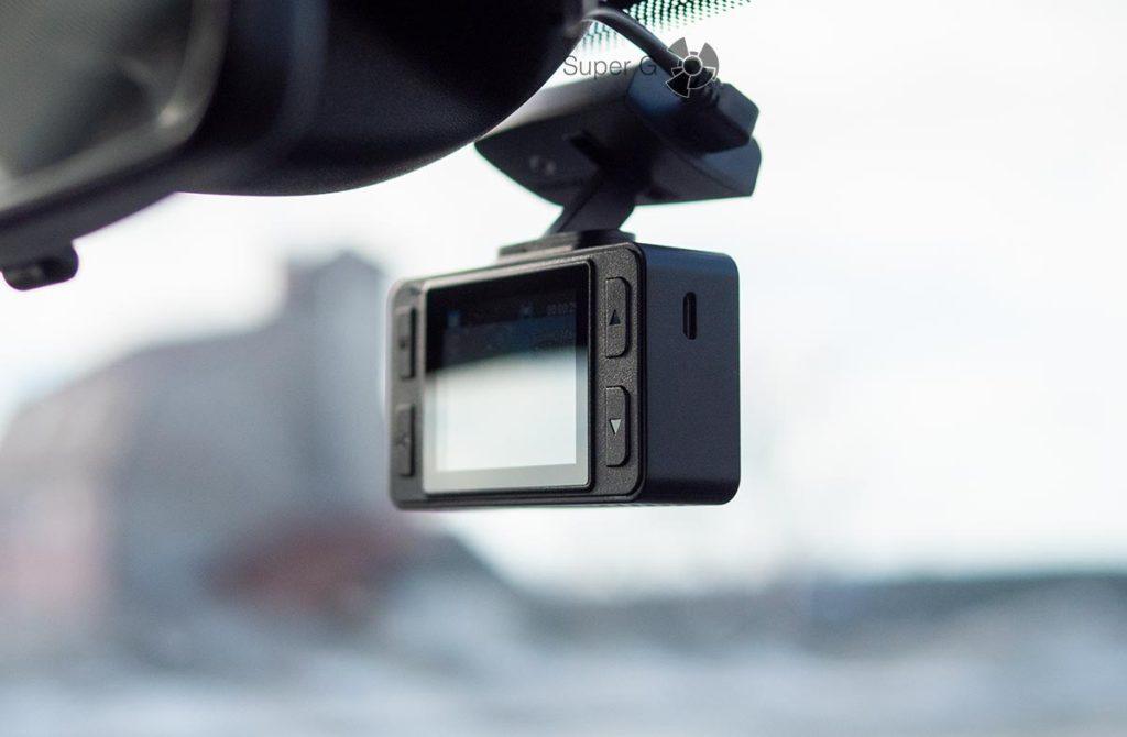 Кнопки управления видеорегистратором Neoline G-Tech X72