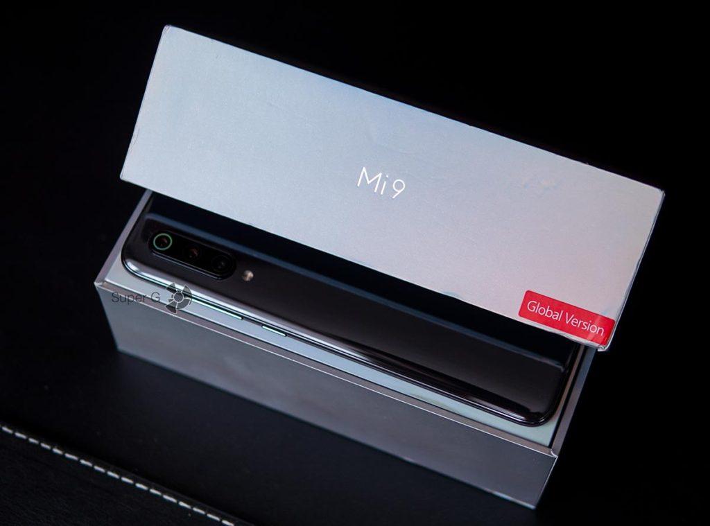 Коробка из-под Xiaomi Mi 9