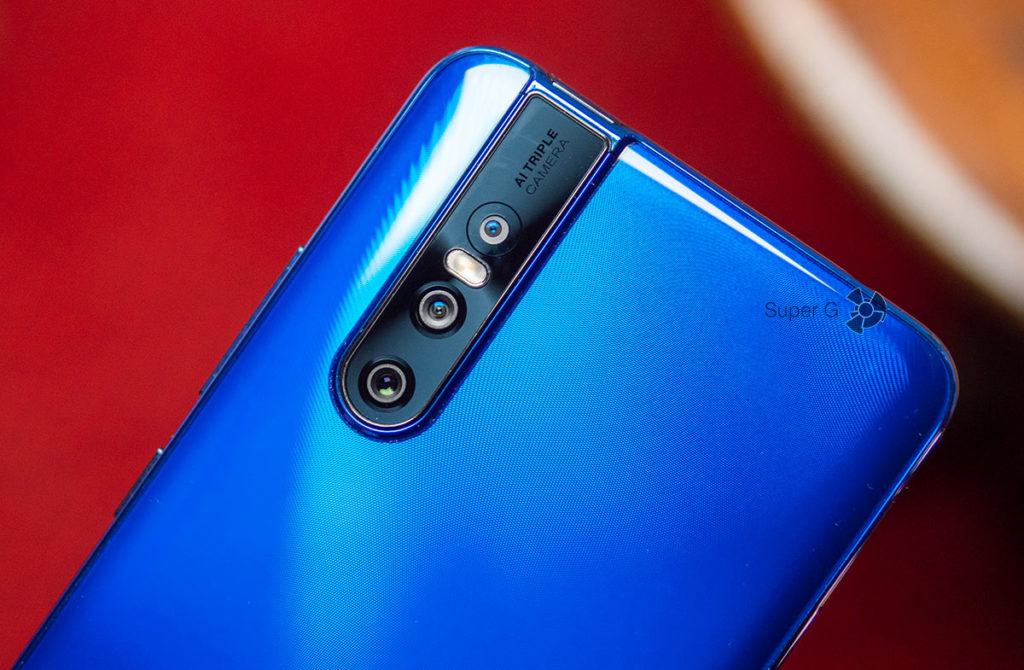 Тройная задняя камера Vivo V15 Pro с примерами фото