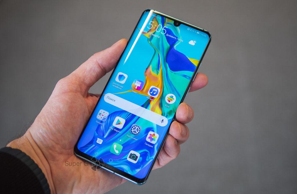 Дисплей Huawei P30 Pro