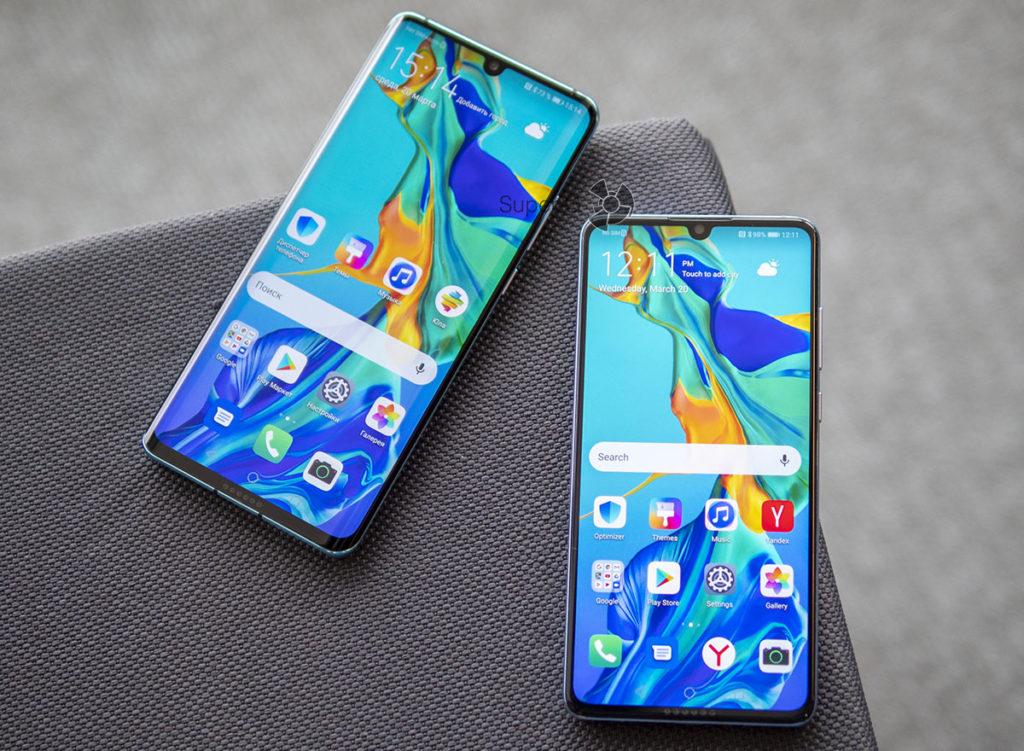 Живые фото Huawei P30 Pro и Huawei P30