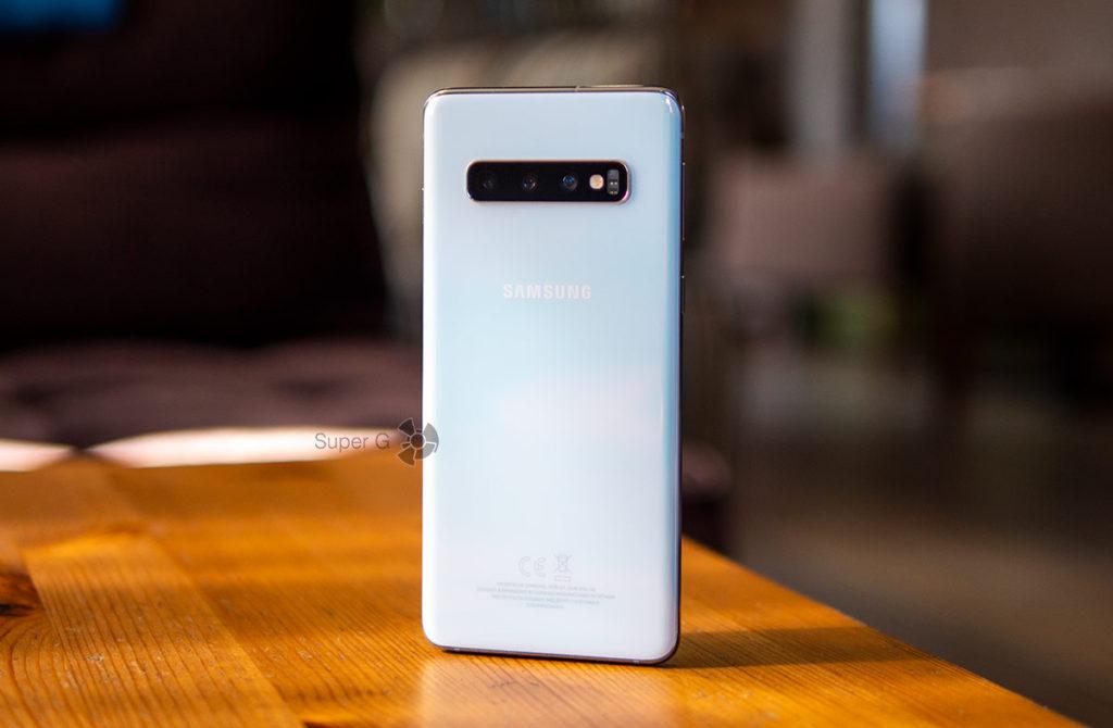 Тест Samsung Galaxy S10