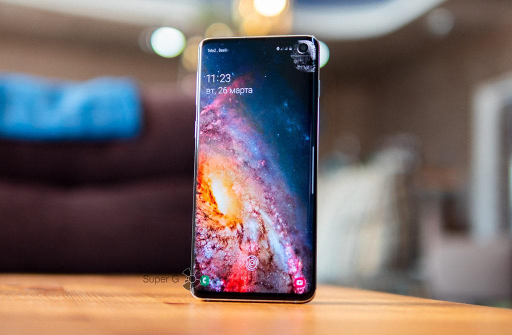 Samsung Galaxy S10 сравнение