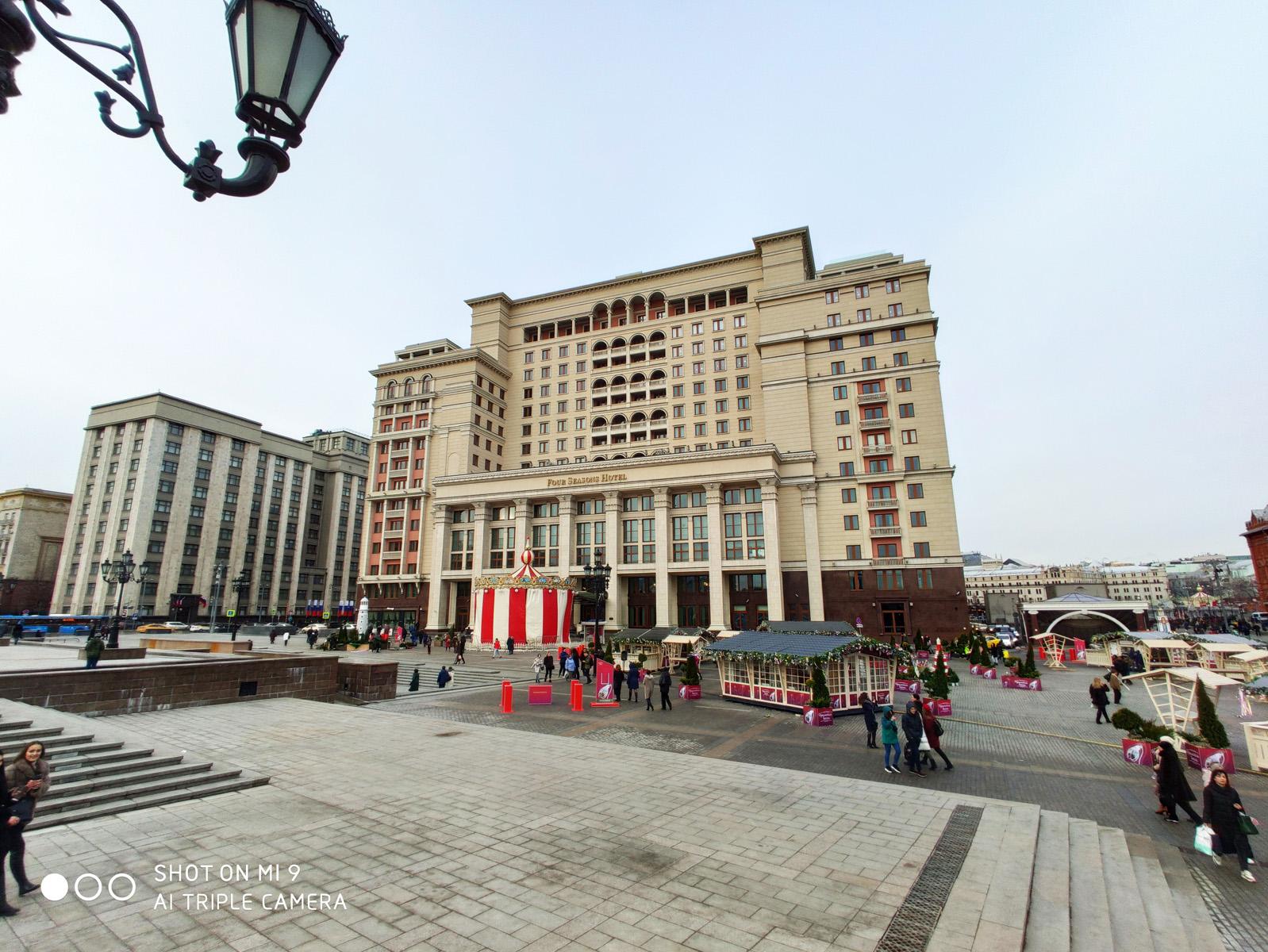 Широкий угол - дневная съёмка - Xiaomi Mi 9