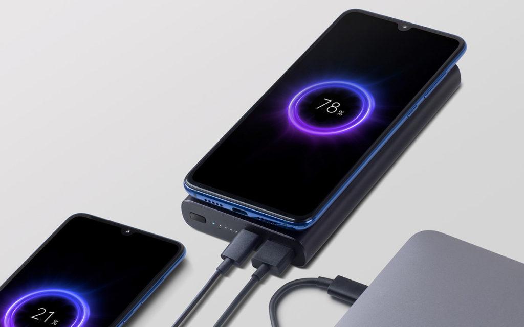 Портативный аккумулятор Xiaomi Mi Wireless Powerbank 10000mAh