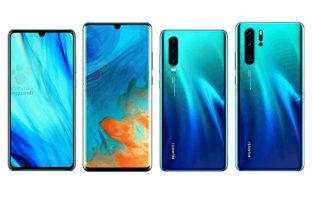Характеристики Huawei P30 и P30 Pro