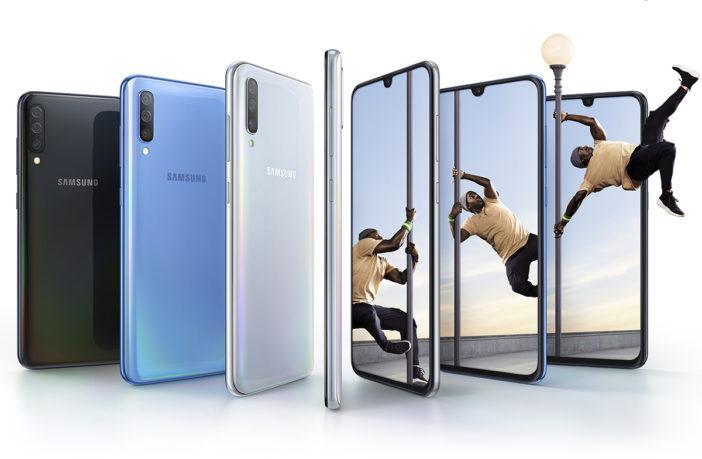 Купить Samsung Galaxy A70 и A40