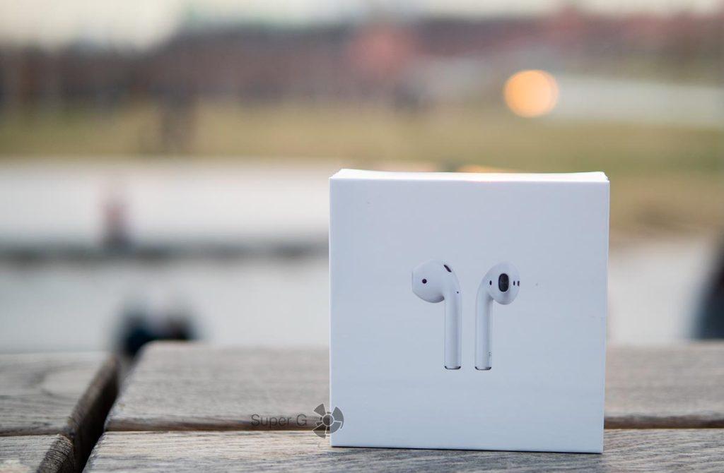 Коробка из-под Apple AirPods 2