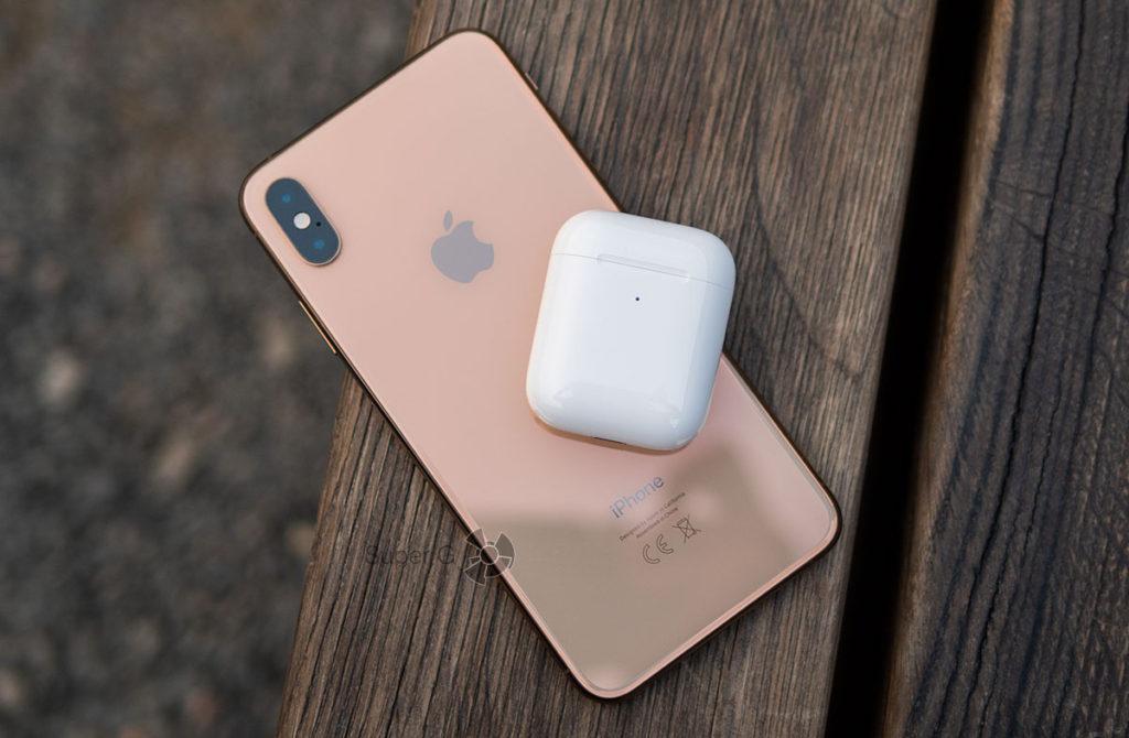 Подключение Apple AirPods 2 к iPhone