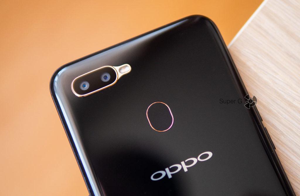 Камеры Oppo A5s и сканер отпечатков пальцев