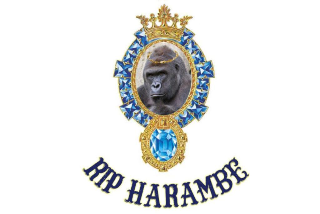Обложка песни «RIP Harambe»