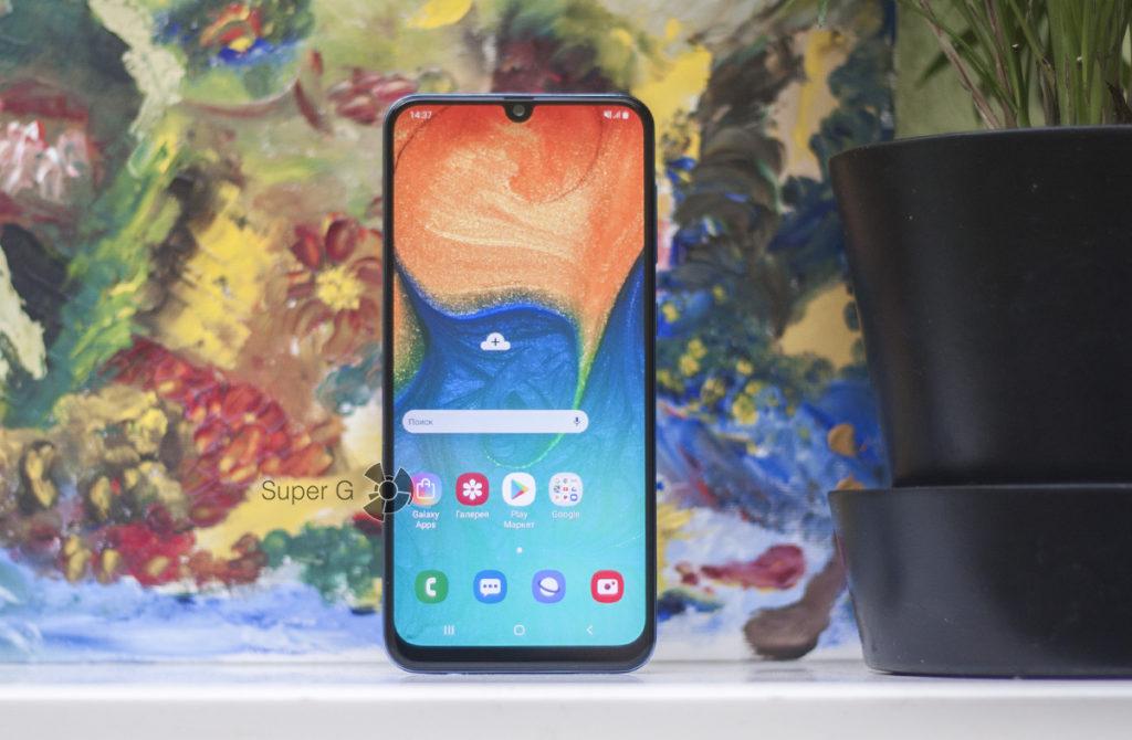 Дисплей Samsung Galaxy A30
