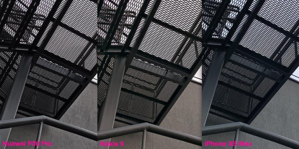 Сравнение работы HDR у Huawei P30 Pro, Nokia 9 и iPhone XS Max