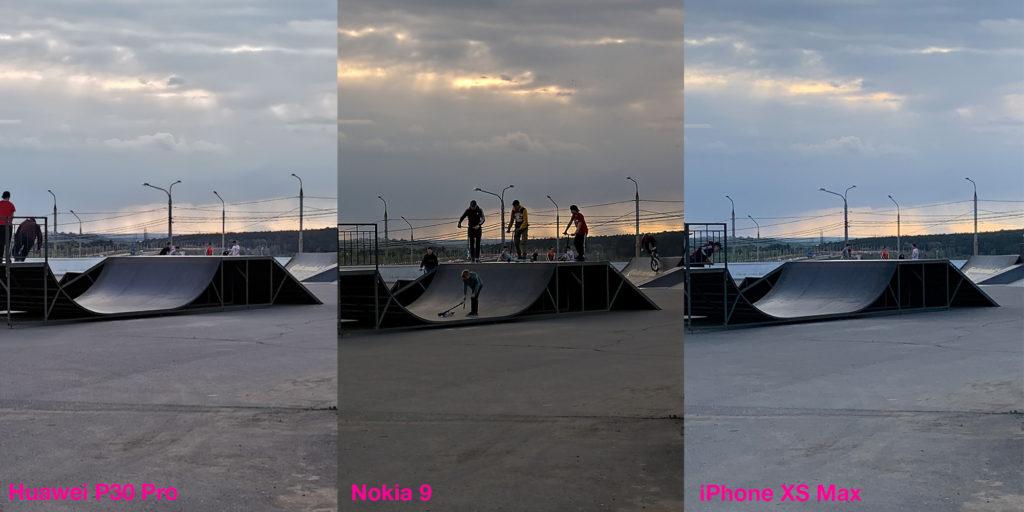 Сравнение работы HDR у Huawei P30 Pro, Nokia 9 и iPhone XS Max (3)