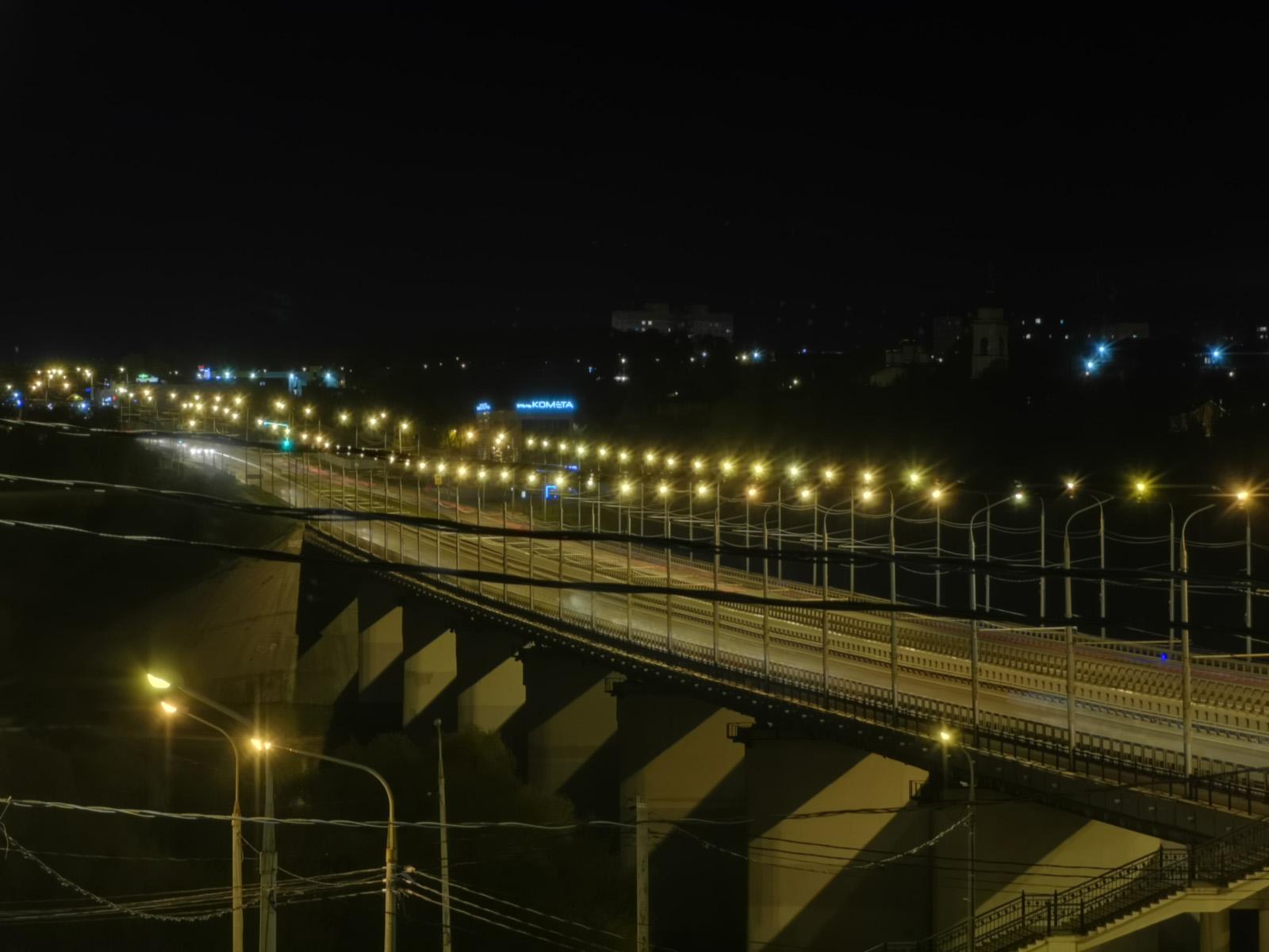 Ночной режим съёмки на Huawei P30 Pro - телеобъектив 135 мм