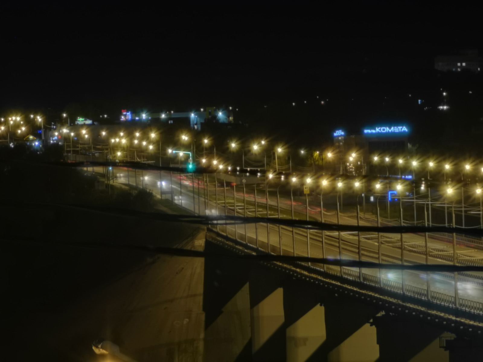 Ночной режим съёмки н Huawei P30 Pro 270 мм