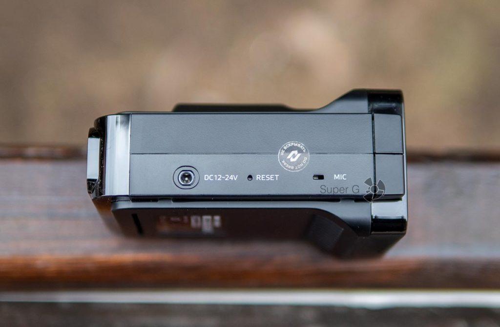 Питание Neoline X-COP 9100s, кнопка сброса и микрофон