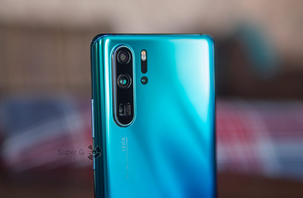 4 задние камеры Huawei P30 Pro