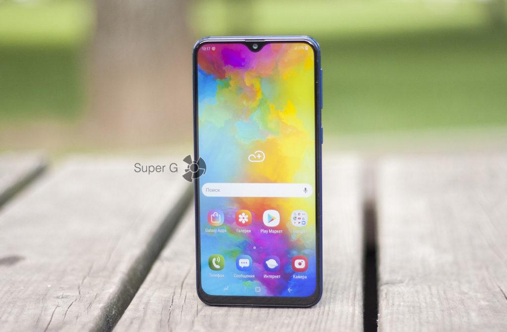 Экран Samsung Galaxy M20