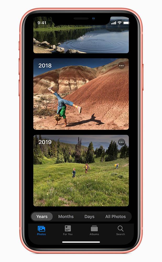 Приложение Фото в iOS 13