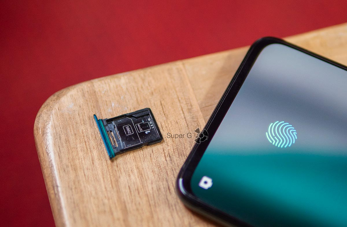 OPPO Reno 10x Zoom лоток под SIM-карты