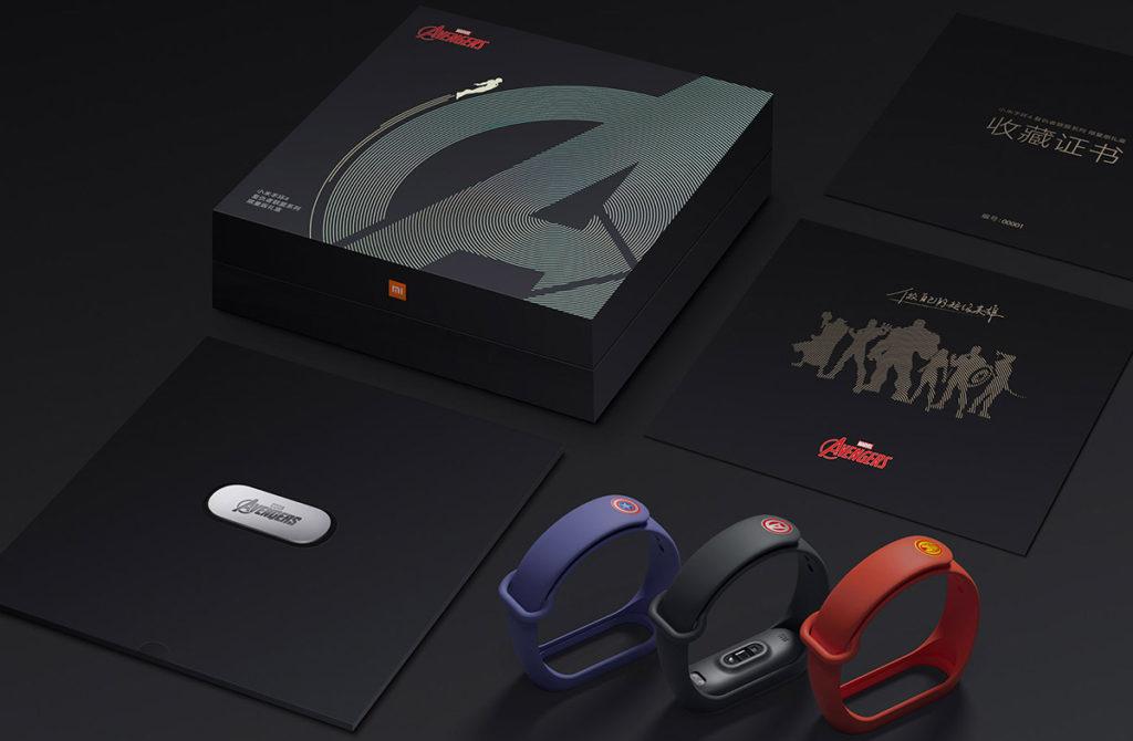 Xiaomi Mi Band 4 Мстители Avengers Edition