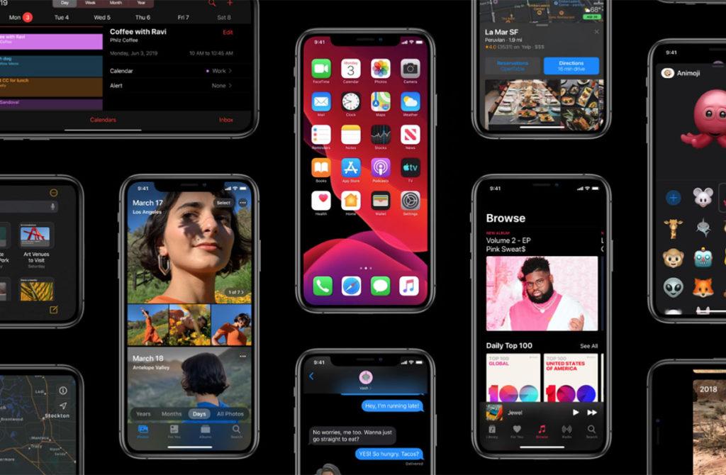 iOS 13 Новые функции