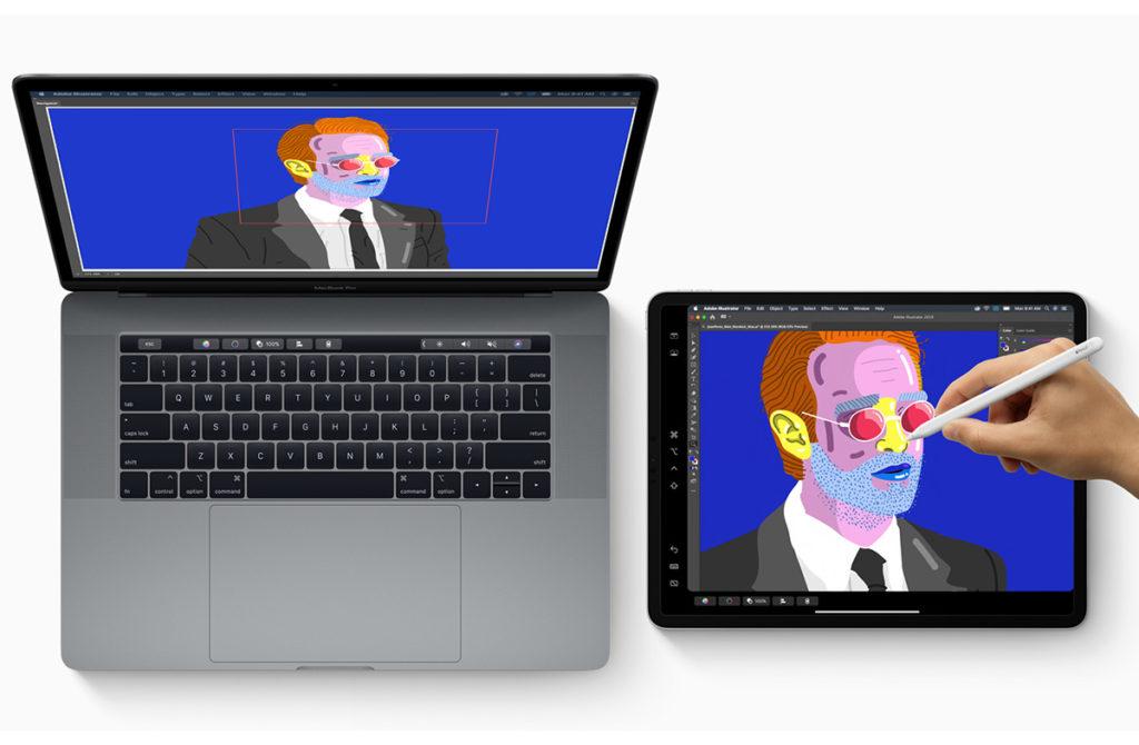 iPad в качестве второго экрана macOS Catalina