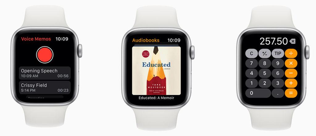 Приложения watchOS 6