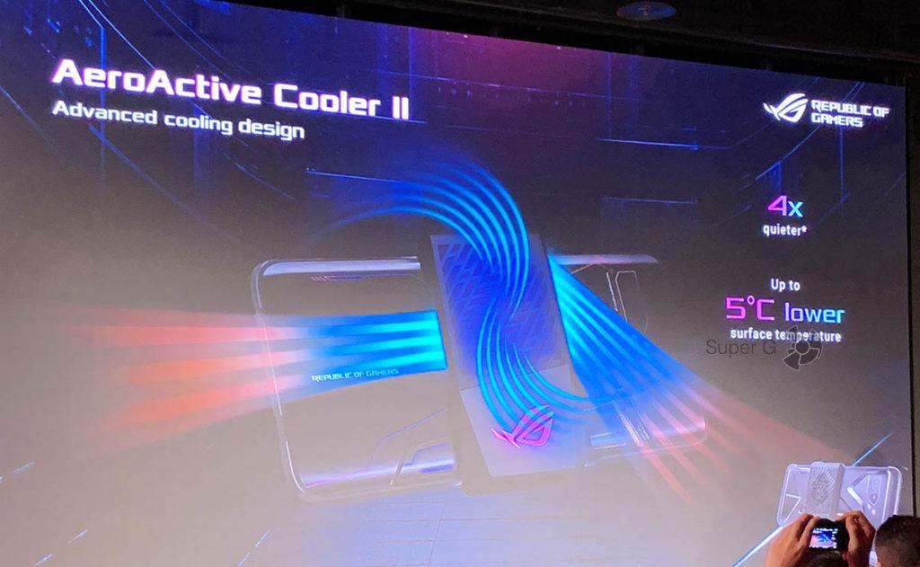 AeroActive Cooler II ASUS ROG Phone II