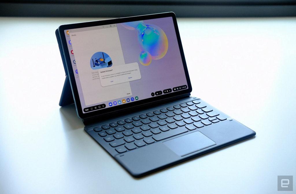 Чехол-клавиатура Book Cover Keyboard для Samsung Galaxy Tab S6