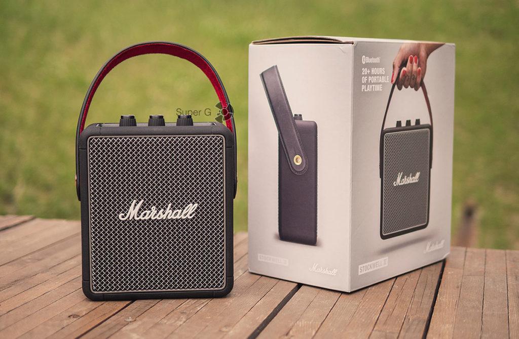 Коробка из-под Marshall Stockwell II - распаковка
